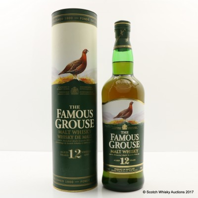 Famous Grouse 12 Year Old 75cl