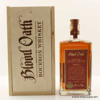 Blood Oath Pact No 2 75cl