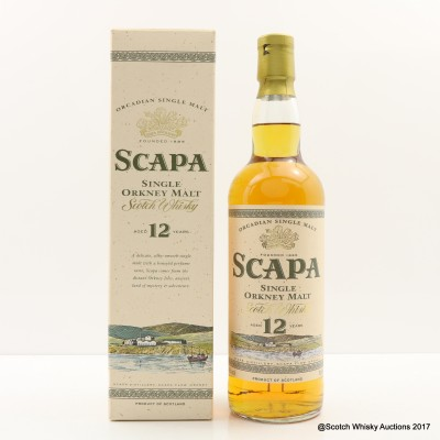 Scapa 12 Year Old