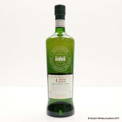 SMWS 4.222 Highland Park 1999 16 Year Old