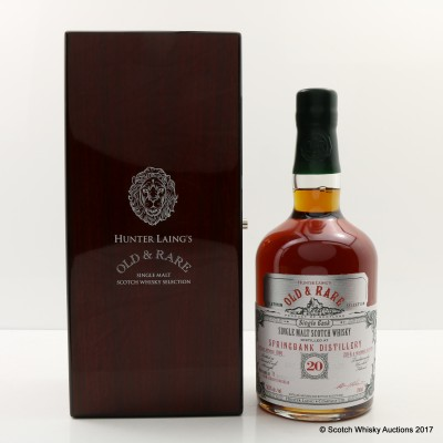 Springbank 1996 20 Year Old Old & Rare