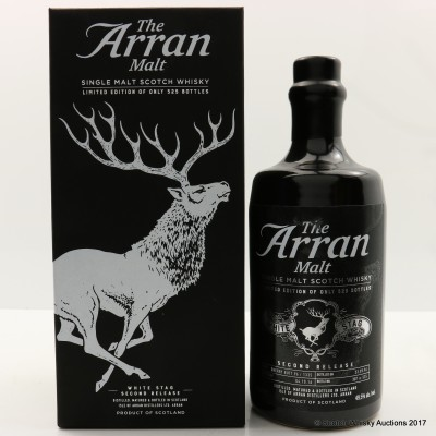 Arran White Stag Second Release