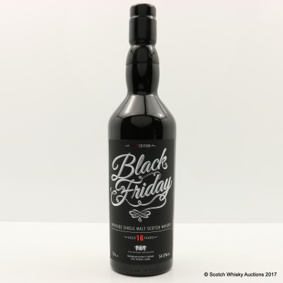 Black Friday 16 Year Old 2017 Edition Whisky Exchange