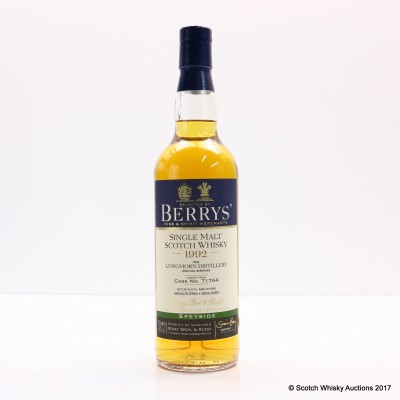 Longmorn 1992 20 Year Old Berry Bros & Rudd