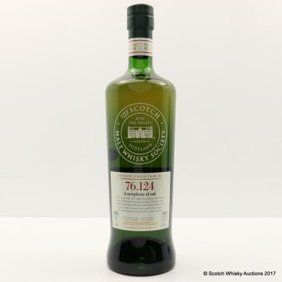 SMWS 76.124 Mortlach 1987 28 Year Old