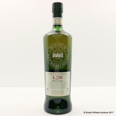 SMWS 4.210 Highland Park 1999 16 Year Old