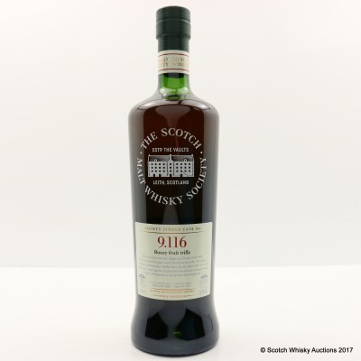 SMWS 9.116 Glen Grant 1996 20 Year Old