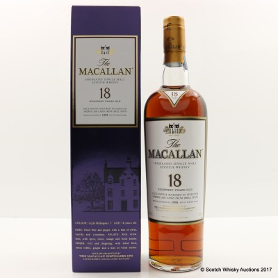 Macallan 18 Year Old 1995