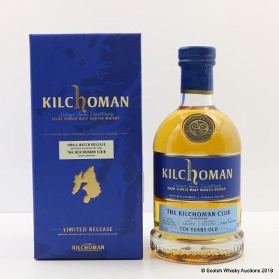 Kilchoman 2007 10 Year Old Kilchoman Club Exclusive 6th Edition
