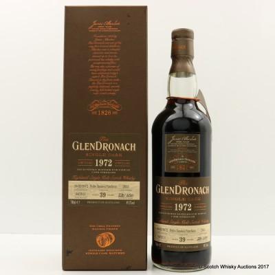 GlenDronach 1972 39 Year Old Single Cask #2033