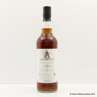 Ben Nevis 1997 16 Year Old Abbey Whisky