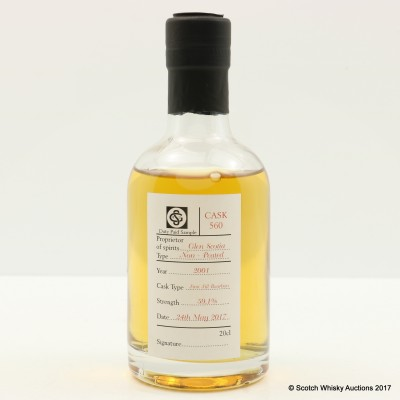 Glen Scotia 2001 Duty Paid Sample 20cl