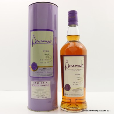 Benromach Sassicaia Wood Finish 2006 Release