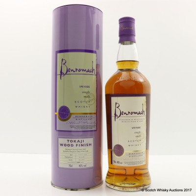 Benromach Tokaji Wood Finish 2006 Release