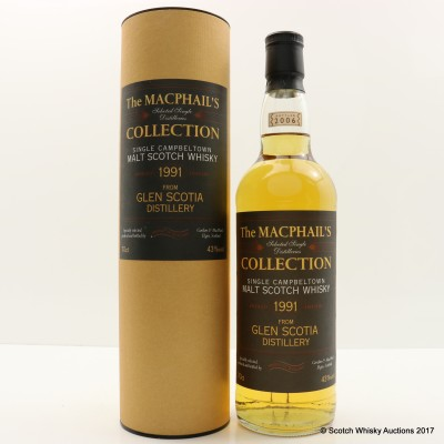 Glen Scotia 1991 Macphail's