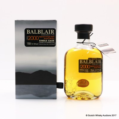 Balblair 2000 Single Cask #1350 Gathering Place Exclusive