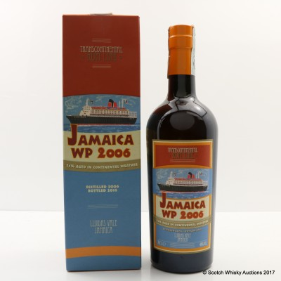 Jamaica Worthy Park 2006 Transcontinental Rum Line #2