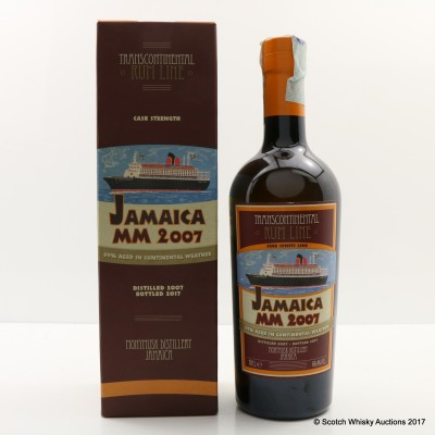Jamaica Monymusk 2007 Transcontinental Rum Line #18
