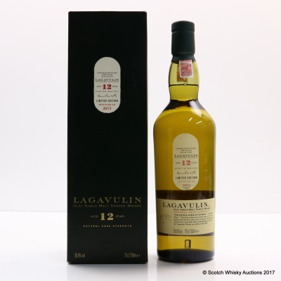 Lagavulin 12 Year Old 2015 Release