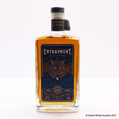 Orphan Barrel 25 Year Old Entrapment 75cl