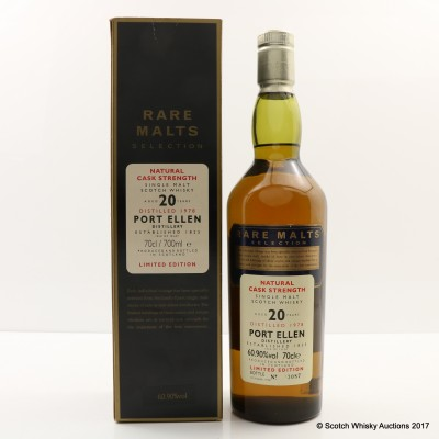 Rare Malts Port Ellen 1978 20 Year Old