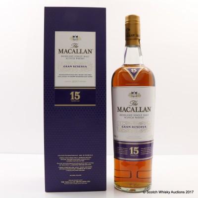 Macallan 15 Year Old Gran Reserva 2017 Edition