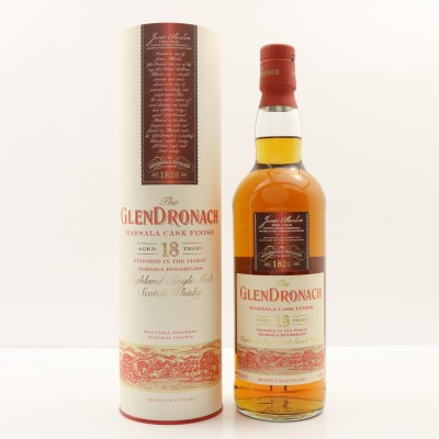 GlenDronach 18 Year Old Marsala Cask Finish