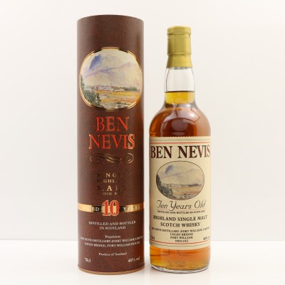 Ben Nevis 10 Year Old Old Style