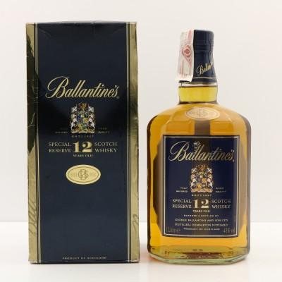 Ballantine's 12 Year Old Gold Seal 1L