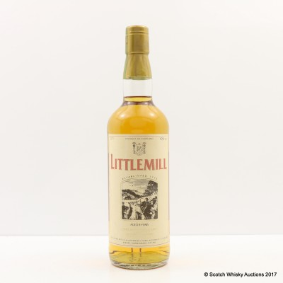 Littlemill 8 Year Old Tall Bottle