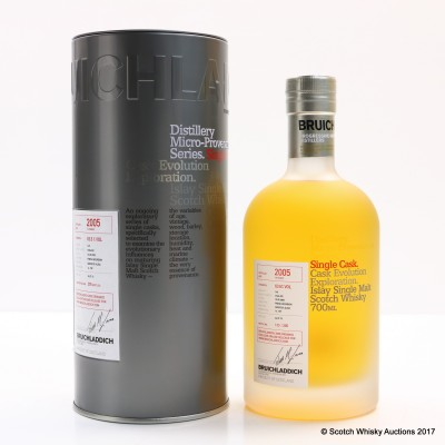 Bruichladdich Micro Provenance 2005 10 Year Old