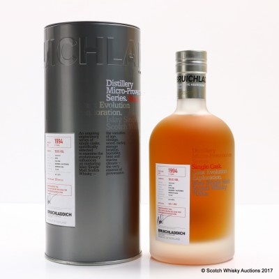 Bruichladdich Micro Provenance 1994 21 Year Old