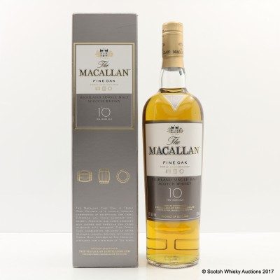 Macallan 10 Year Old Fine Oak 75cl