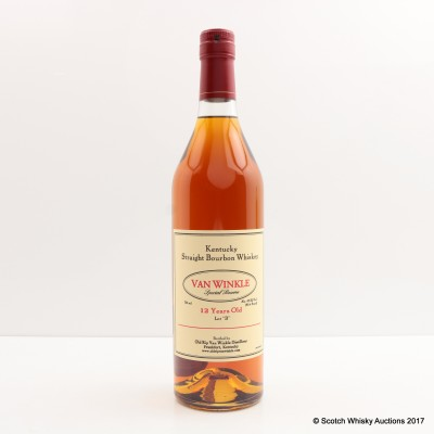 "Van Winkle Special Reserve Lot ""B"" 12 Year Old Bourbon 75cl"