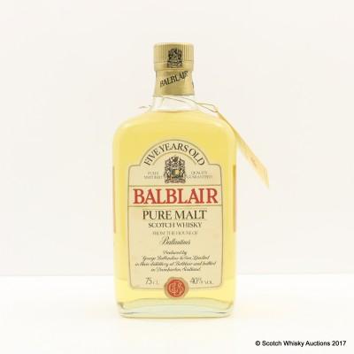 Balblair 5 Year Old 75cl