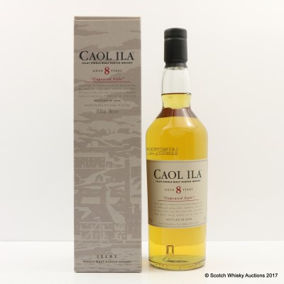 Caol Ila 8 Year Old Unpeated 2006 Release