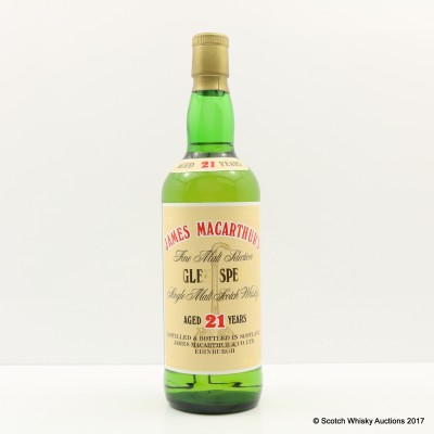 Glen Spey 21 Year Old James MacArthur's 75cl