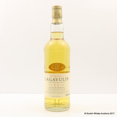 Lagavulin 15 Year Old The Syndicate's Bottling