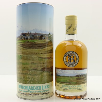 Bruichladdich Links The 18th Green Royal Troon 14 Year Old