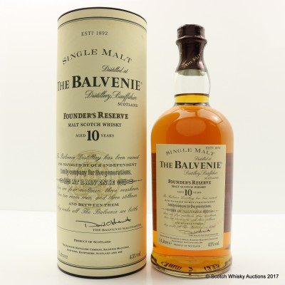 Balvenie 10 Year Old Founder's Reserve 1L