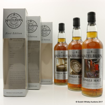 Hazelburn 8 Year Old First Edition The Casks, The Maltings & The Stills
