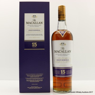Macallan 15 Year Old Gran Reserva 2017 Edition