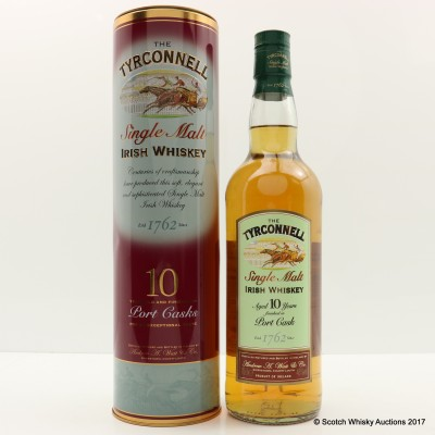 Tyrconnell 10 Year Old Port Cask