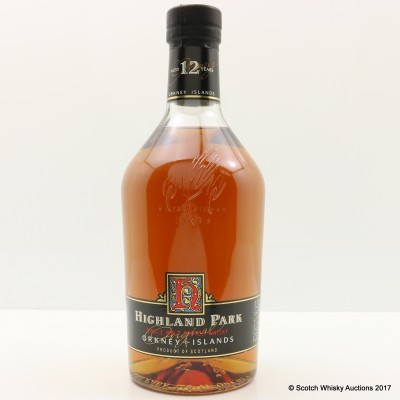 Highland Park 12 Year Old Old Style 1L