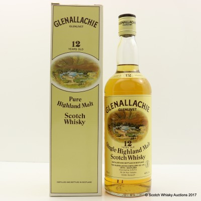 Glenallachie 12 Year Old 75cl