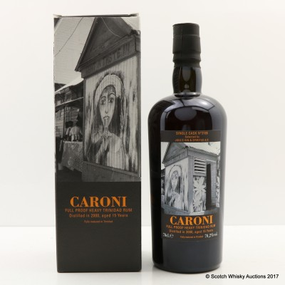 Caroni 2000 15 Year Old Single Cask for Juul's Vin & Spiritus A/S