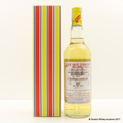 Fettercairn 1997 17 Year Old High Spirits Collection 'Life is a Circus'