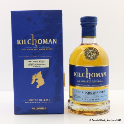 Kilchoman 2007 10 Year Old Small Batch Release For The Kilchoman Club 6th Edition