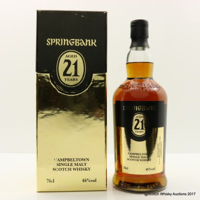 Springbank 21 Year Old