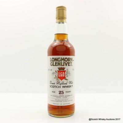 Longmorn-Glenlivet 25 Year Old Gordon & MacPhail